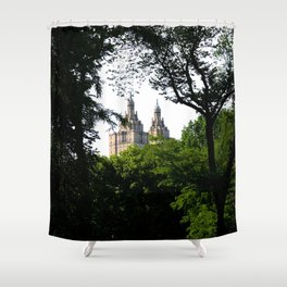 The Upper West Side Shower Curtain