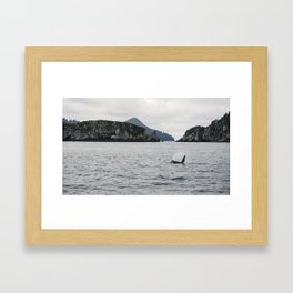 Sailing Away Framed Art Print