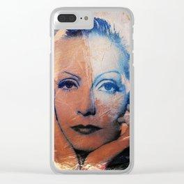 Divas - Greta Clear iPhone Case