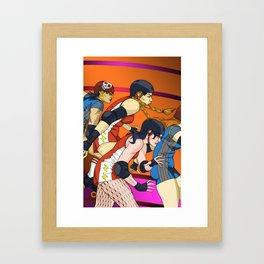 Derby Girls 02 Framed Art Print