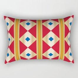 Traditional Japanese patter KUGINUKITSUNAGI Rectangular Pillow