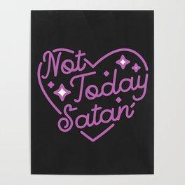 not today satan III Poster