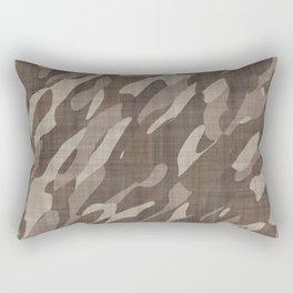 Sand Camo Rectangular Pillow