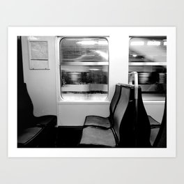 Another Train  Art Print