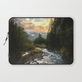 The Sandy River I - nature photography Laptop Sleeve