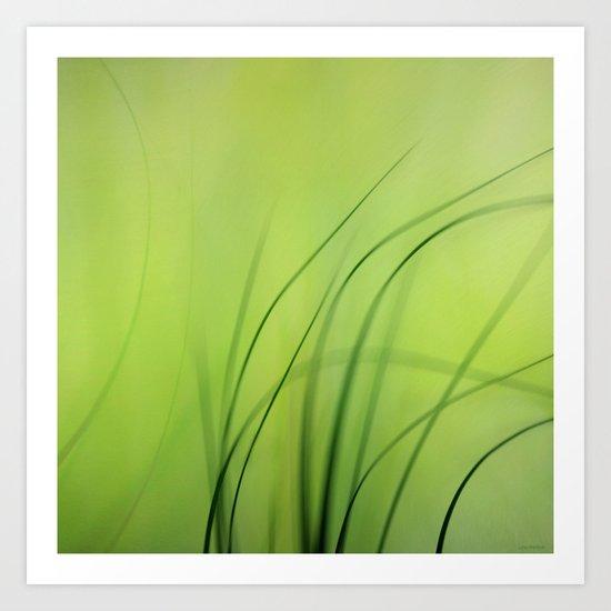Sway  (Grass) Art Print