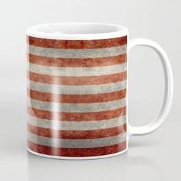 USA flag - Retro vintage Banner Coffee Mug