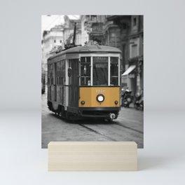 Old tramway. Mini Art Print
