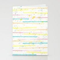 confetti Stationery Cards featuring Confetti by Tammy Kushnir
