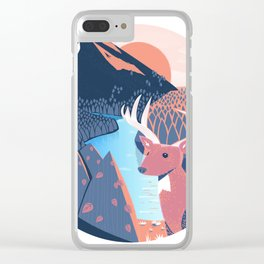 Cabin Folk passion Clear iPhone Case