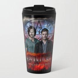 Supernatural Winchester Bros 2 Travel Mug