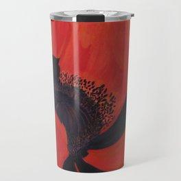 Dancing Poppy Travel Mug
