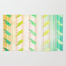 Tropical Birdies Rug