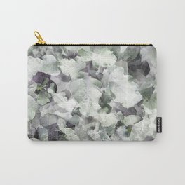 Green and Purple Foliage Carry-All Pouch