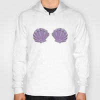 shells Hoodies featuring Shells  by Collective Awkwardness