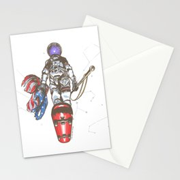 The Last Spaceman Stationery Cards