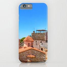 mani hdr greece iPhone Case