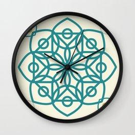 la 'iilah 'iilaa allah islam Wall Clock