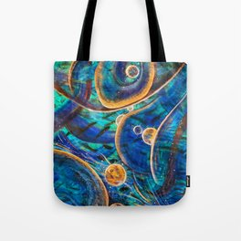 """""""Layers of Time"""", Vernal Pools of Thought & Mind Tote Bag"""