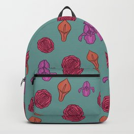 Vagina flowers Backpack