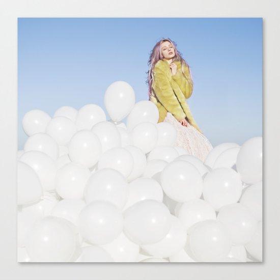 300 balloons Canvas Print