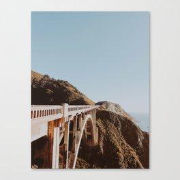 Bixby Bridge / California Canvas Print