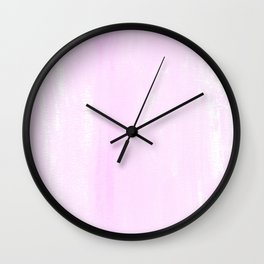 light pastell pink Wall Clock