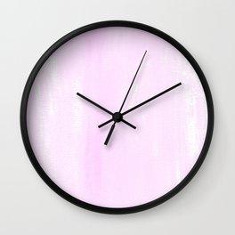 light pastell pink Wall Clock