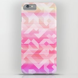 Geometric Sunset iPhone Case