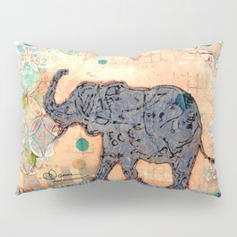 majestic series: elephant mirage Pillow Sham