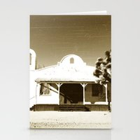 quentin tarantino Stationery Cards featuring Kill Bill Church Quentin Tarantino by Chris Bergeron