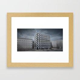 Bolzano administrative building Framed Art Print