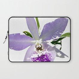 Purple Orchid Laptop Sleeve