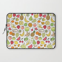 Juicy Fruits Doodle Laptop Sleeve