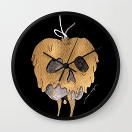 Poisoned Apple Wall Clock