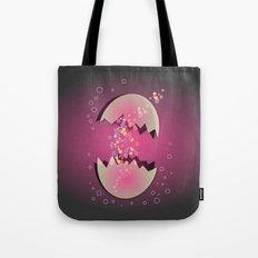 Bubble Egg Tote Bag