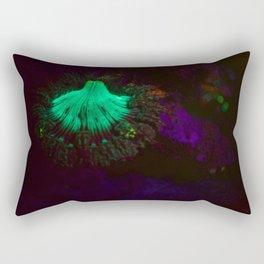 Volcano of fluorescent anemone Rectangular Pillow