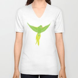 Wild Parrots of East Austin Unisex V-Neck