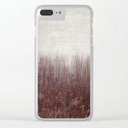 Hidden Vigor in Winter Clear iPhone Case