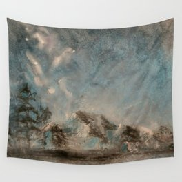 Winter Mountains Wall Tapestry