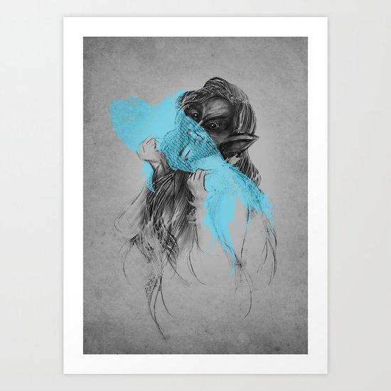 GOT FISH? Art Print