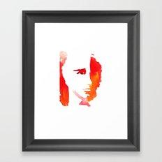 Please, don't stop the rain Framed Art Print