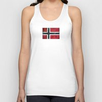 norway Tank Tops featuring Norway by Arken25