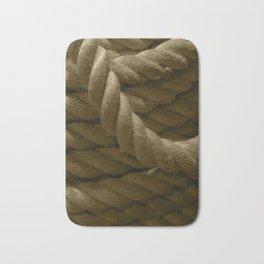 Mooring rope tint Bath Mat