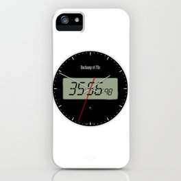 Digital Clock 01 iPhone Case