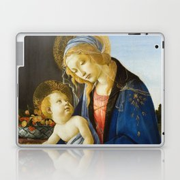 Botticelli  -  The Virgin And Child The Madonna Of The Book Laptop & iPad Skin