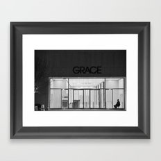 Contemplating Grace Framed Art Print