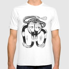 Trust MEDIUM Mens Fitted Tee White