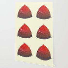 Le Rouge-Orangé (ses diverses nuances combinées avec le noir) Vintage Remake, no text Wallpaper