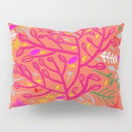 Folk Tree Pillow Sham